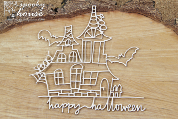Chipboards - Spooky House - big house