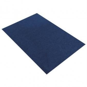 Filc 1mm / 20x30cm / tmavo modrý