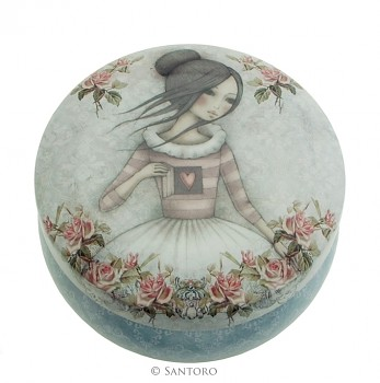 Trinket Tin - The Secret, Santoro's Mirabelle