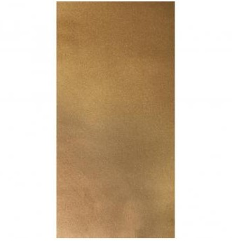 Voskové fólie / 20x10cm / 2ks / zlatá