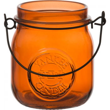 Svietnik JAM JARS / Orange / 7x6,5cm