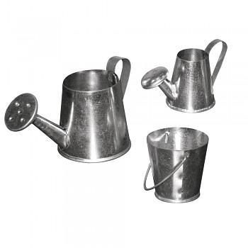 Metall-Kannenset, 3-5cm, Set 3Stück