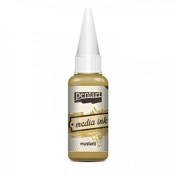 Media Ink / Mustard / alkoholový atrament 20ml