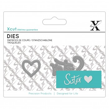 Mini Sentiment Die (2ks) - Sister