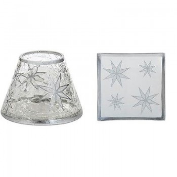 Small Shade & Tray Set / ARTIC SNOWFLAKE