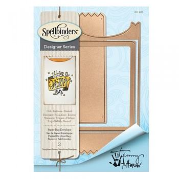 Kovová šablóna - Paper Bag Envelope