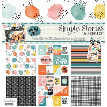 Whatever Simple Set - Collection Kit 12x12""