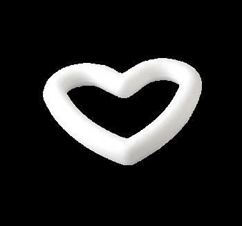 Styrofoam-heart 20 cm / 1pc
