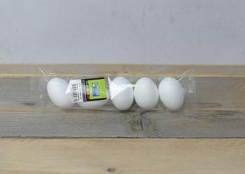 Styropor eggs 5pcs / 6 cm