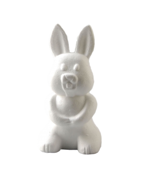 Polystyrénový zajačik / 24cm / 1ks