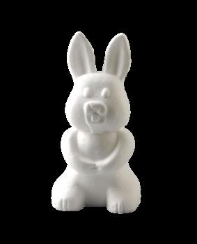 Styrofoam bunny / 24cm / 1pcs