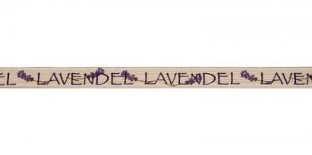 Cotton ribbon Lavender 15mm / 1m
