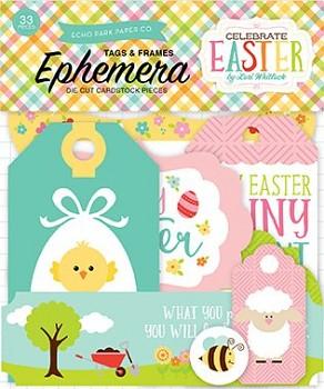Celebrate Easter Frames & Tags Ephemera / papírové výřezy