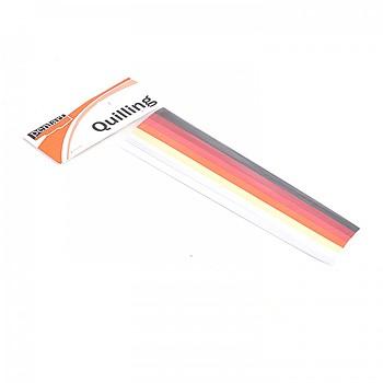 Quillingové proužky 1 / 0,5 cm / 300 ks
