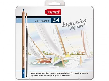 Bruynzeel Expression Aquarel 24 ks