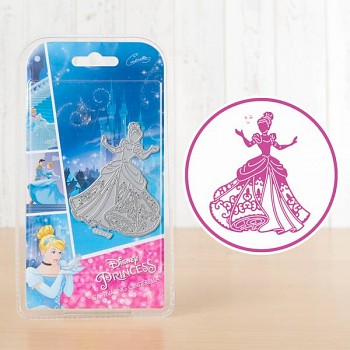 Disney Captivating Cinderella / Vyrezávacia šablóna s pečiatkou