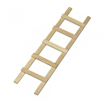 Wooden ladder, 13.5cm, 5 rungs
