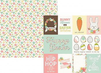 Easter / 3x4 & 4x6 Journaling Card Elements