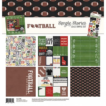 Football - Collection Kit 12x12""
