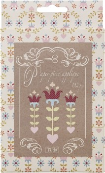 Tilda Papierstücke Flowers Folkart / 192 St.