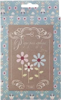 Tilda papierové EPP šablóny Flowers petals / 203ks