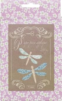 Tilda papierové EPP šablóny Dragonfly 6-7cm / 200ks