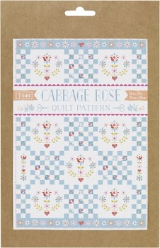 Tilda Quilt Pattern Cabbage Rose