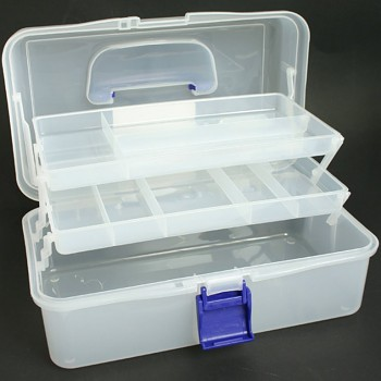 Clear Caddy (Blue Handle & Catch)