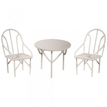 Mini nábytok / 3ks / stôl a stoličky