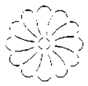 Quilt šablóna / Flower
