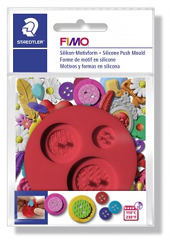 Fimo Silicone Push Mould / Buttons