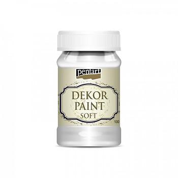 Kriedová farba Dekor Paint Soft 100ml / biela
