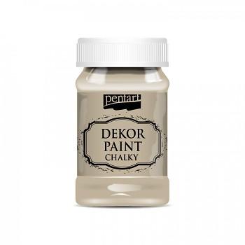 Kriedová farba Dekor Paint Soft 100ml / Cappuccino