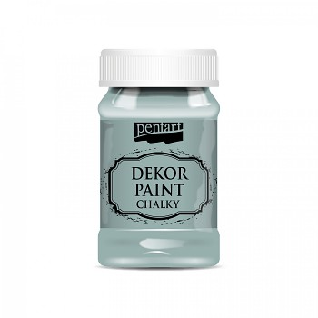 Kriedová farba Dekor Paint Soft 100ml / Country Blue