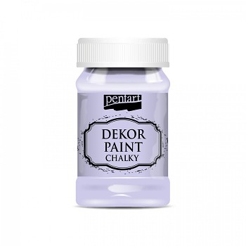 Kriedová farba Dekor Paint Soft 100ml / sv.fialová