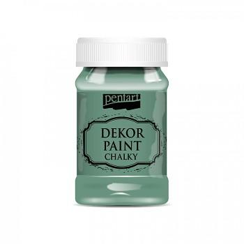 Kriedová farba Dekor Paint Soft 100ml / tyrkysová zelená