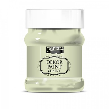 Kriedová farba Dekor Paint Soft 230ml / lišajníková zelená