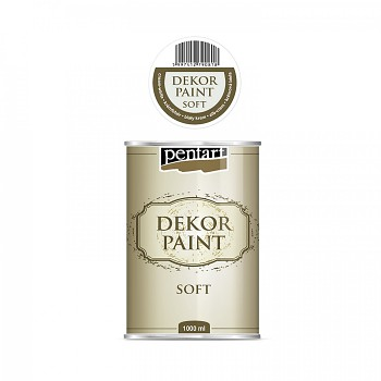 Dekor Paint Soft 1000ml / cream-white