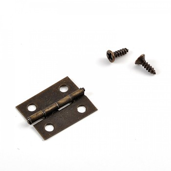 Metal hinge / 18x14mm / 20St.