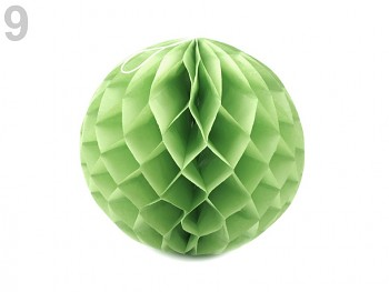 Honeycomb Paper Ball 25cm / pastel green