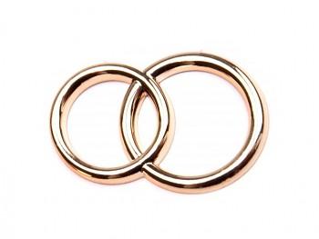 Craft Embellishments Wedding Rings 22x32mm / 5pcs
