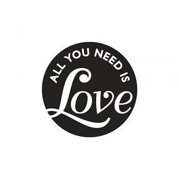 Label / All you need is Love / 4,5cm