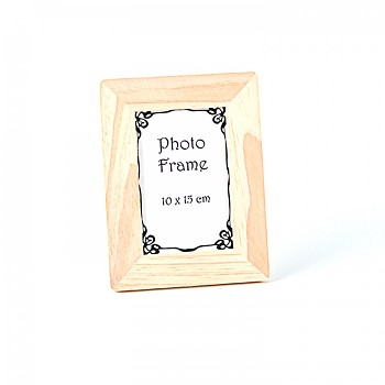 Wooden frame, rounded / 10x15cm