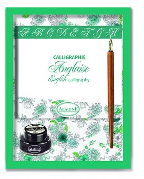Calligraphic set / English Calligraphy