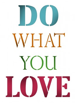 Šablóna / A4 / Do what you love