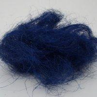 Sisal-wool 25g / blue