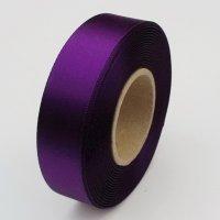 Atlasová stuha 24mm / 20m / fialová
