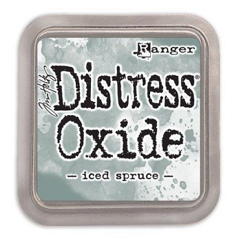 Distress Oxide Ink Pad / Iced spruce