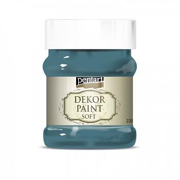 Kriedová farba Dekor Paint Soft 230ml / fľaškovo zelená