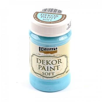 Kriedová farba Dekor Paint Soft 100ml / nebeská modrá
